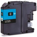 TINTA COMPATIBLE BROTHER LC123C CIAN