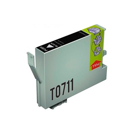 TINTA GENÉRICA EPSON T0711 / T0891 NEGRO