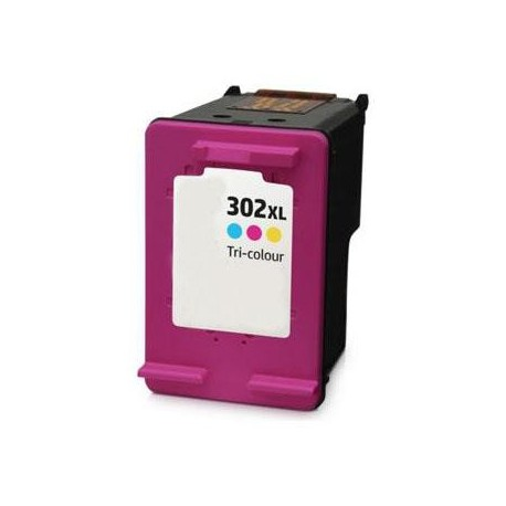 TINTA COMPATIBLE HP F6U67AE - HP 302 XL COLOR
