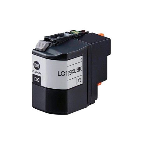 TINTA COMPATIBLE BROTHER LC129XL NEGRO