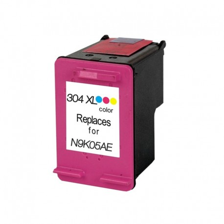 TINTA COMPATIBLE N9K07AE - HP 304XL COLOR