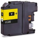 TINTA COMPATIBLE BROTHER LC22EY AMARILLO