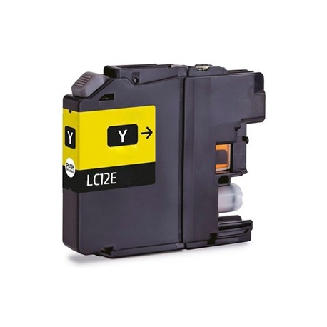TINTA COMPATIBLE BROTHER LC12EY AMARILLO