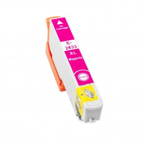 TINTA COMPATIBLE EPSON T2433 - 24XL MAGENTA