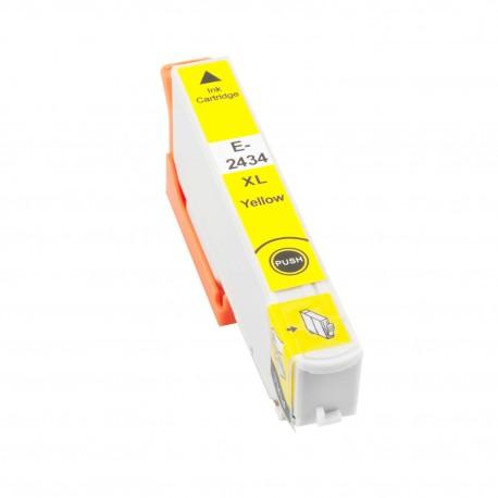 TINTA COMPATIBLE EPSON T2434 - 24XL AMARILLO