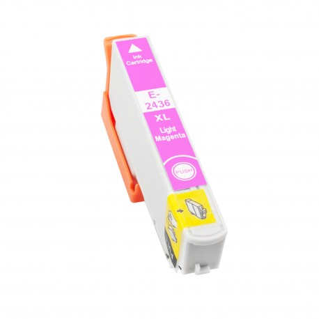 TINTA COMPATIBLE EPSON T2436 - 24XL MAGENTA CLARO