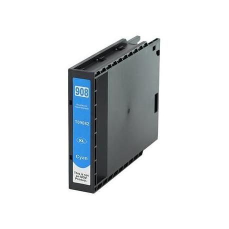 TINTA COMPATIBLE EPSON T9082 CIAN
