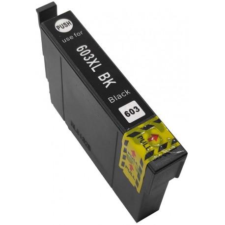 TINTA COMPATIBLE EPSON T03A1 - 603XL NEGRO